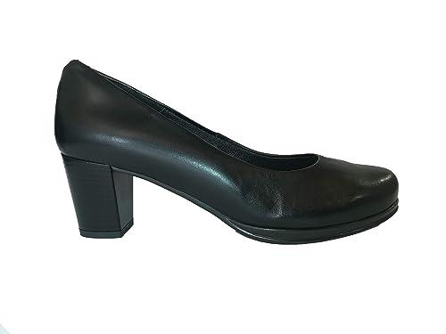 b6e2e418a67 Desireé - 1245I Zapato Mujer Salón Piel  Amazon.es  Zapatos y complementos