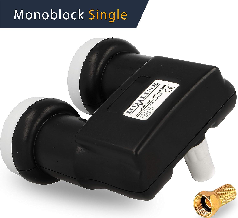 HD-Line Monoblock Single Monoblock with 1 Output Gold: Amazon co uk