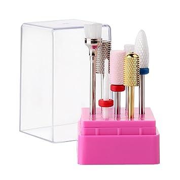 Amazon.com : Makartt B-18 Cuticle Nail Drill Bits Set 7PCS Acrylic ...