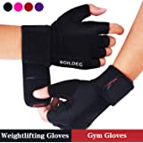 BOILDEG Gym Weight Lifting Gloves,Full Palm Protection & Extra Grip Breathable Anti-Slip,for Workout Exercise Weight lifting Training Fitness,for Men & Women
