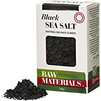 Raw Materials Black Sea Salt Flakes, 125 g