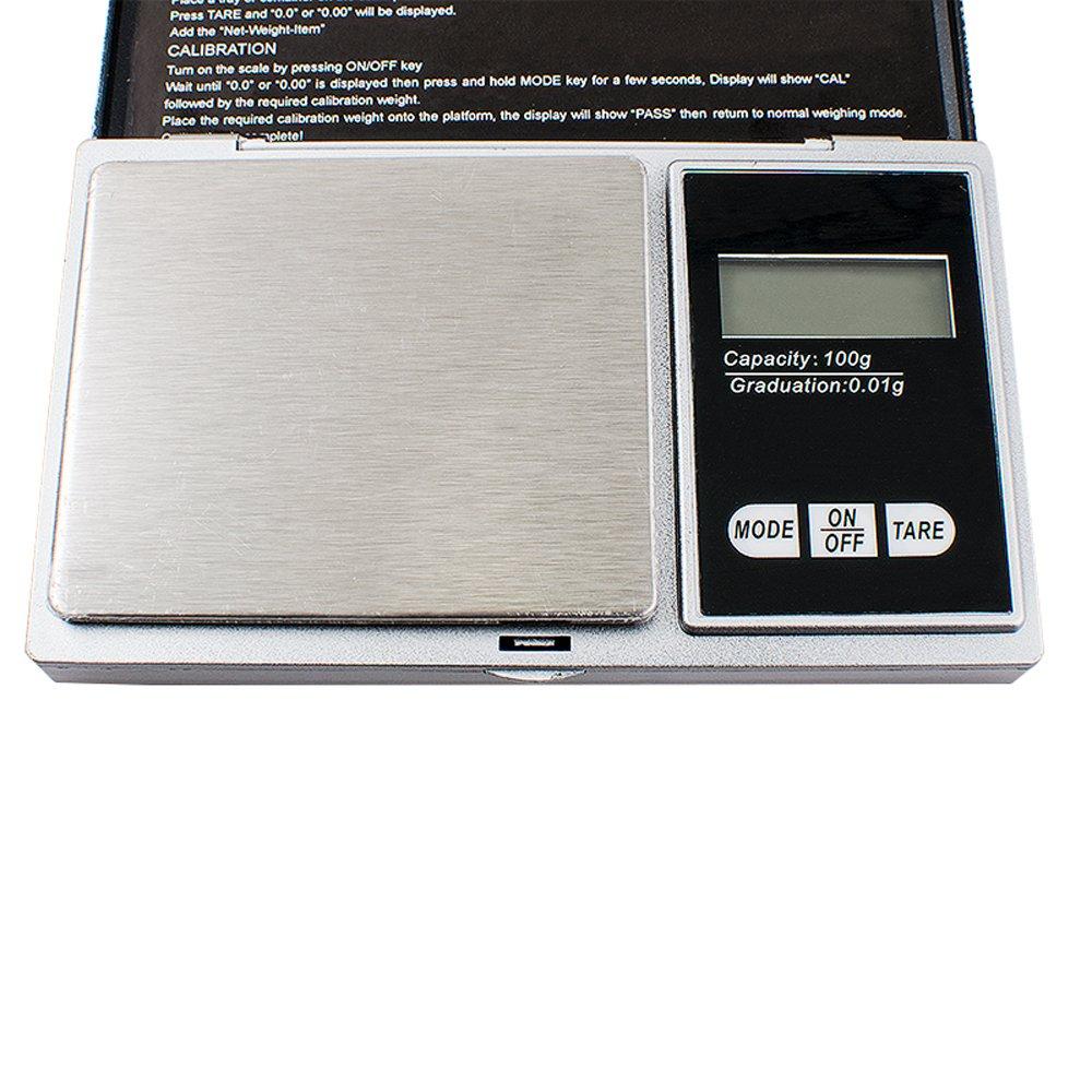 Denshine 100g x 0.01g Taschenwaage Digitalwaage Feinwaage Juwelierwaage M/ünzwaage Scale