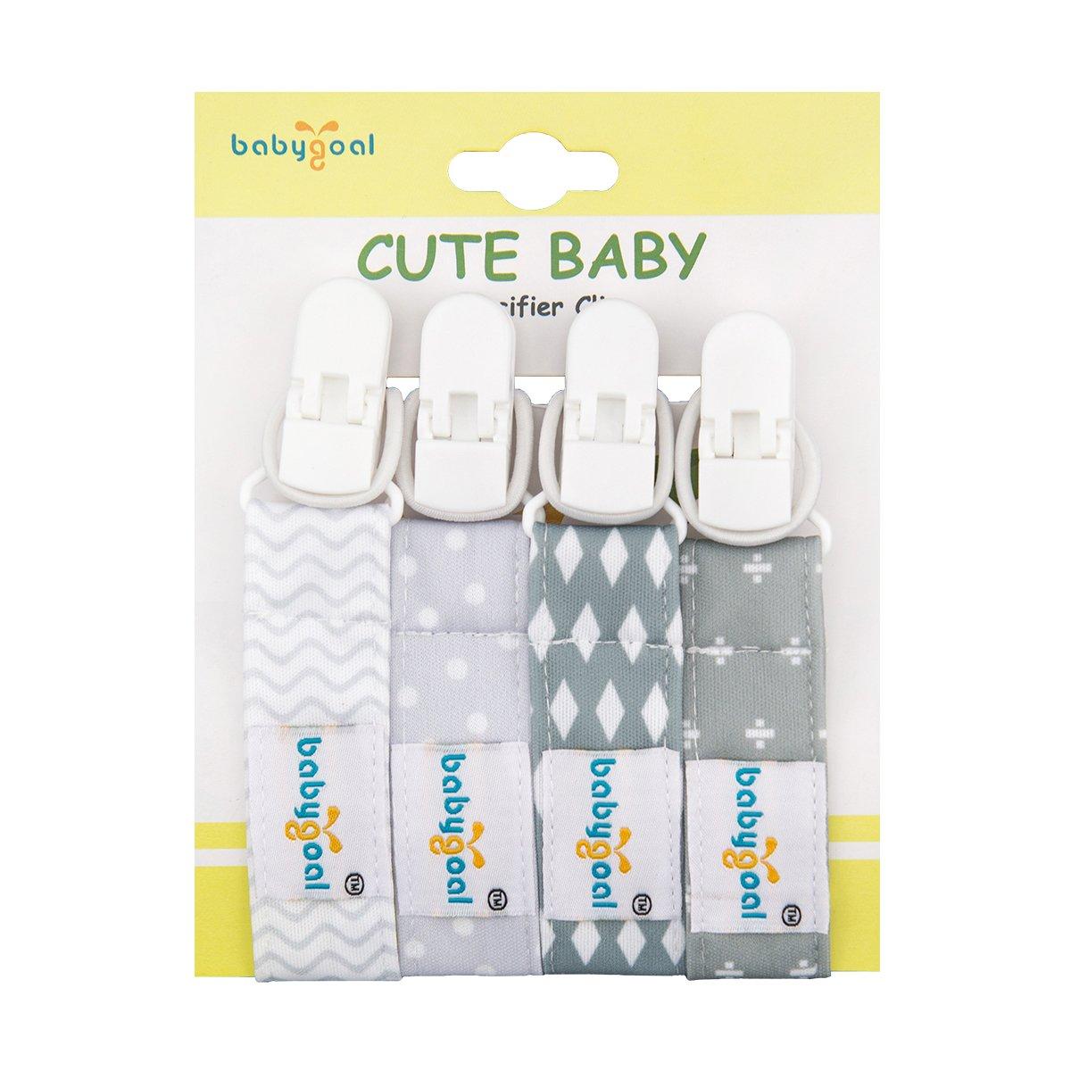 Amazon.com: babygoal Juego de 3 chupete Clips se adapta a ...