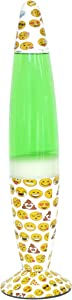 Emoji Pals Emoji Volcano Lamp, Green