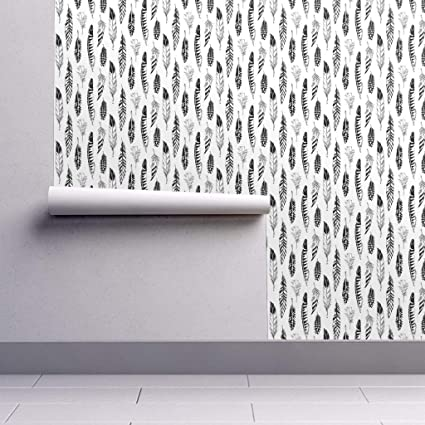 Peel And Stick Removable Wallpaper Black And White