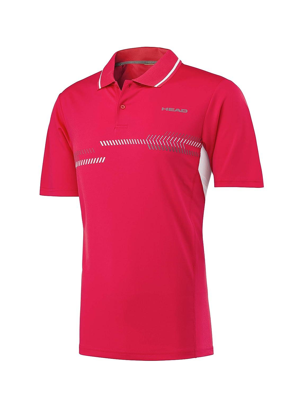Head Camiseta técnica Tipo Polo, para Hombre, Hombre, Color Negro ...