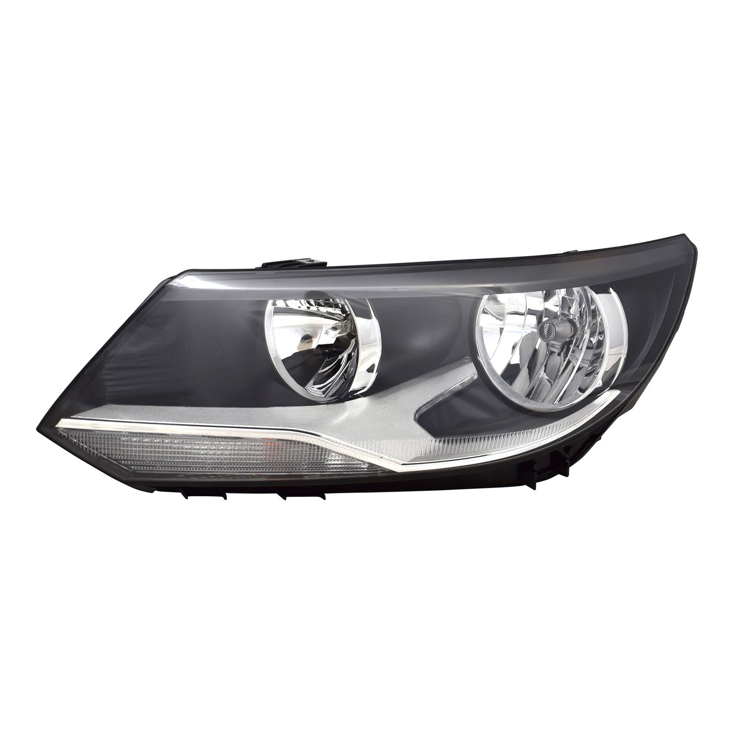 Partslink VW2502152 OE Replacement Headlight Assembly VOLKSWAGEN TIGUAN 2012-2016 Multiple Manufacturers VW2502152N