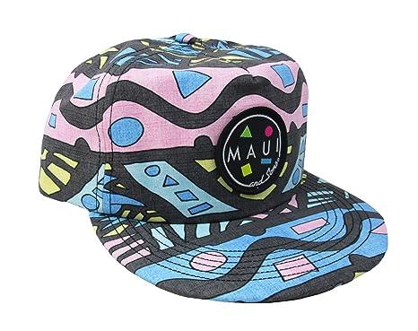 24a193f7321e8 Maui   Sons Men s Savage Flip up Snapback Hat (Black