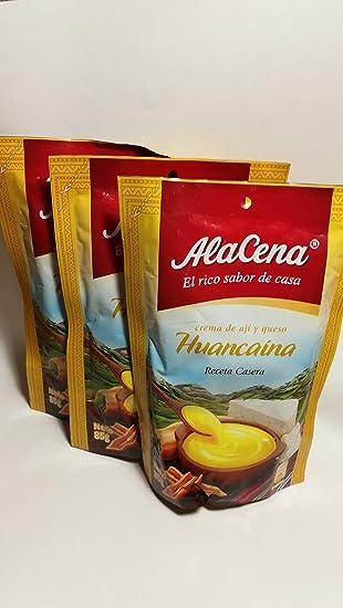 Pack de 3 Salsas Huancaina Alacena de 85g (3x85g)