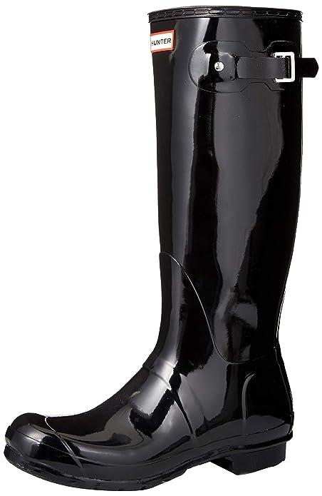 Hunter Original Tall Gloss, Stivali da Lavoro Donna: Amazon