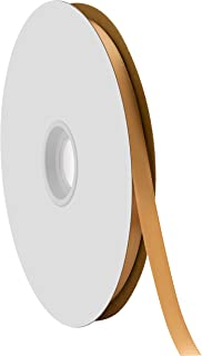 """product image for Offray Berwick 3/8"""" Single Face Satin Ribbon, Old Gold Yellow, 100 Yds"""