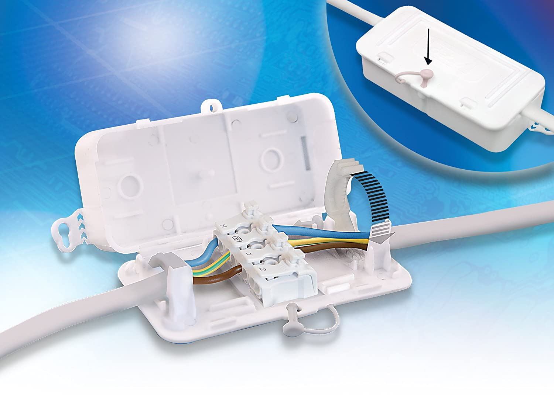 Debox SL DEKSB-003 4 Pole Connector Block Junction Box (Pack Of 1 ...
