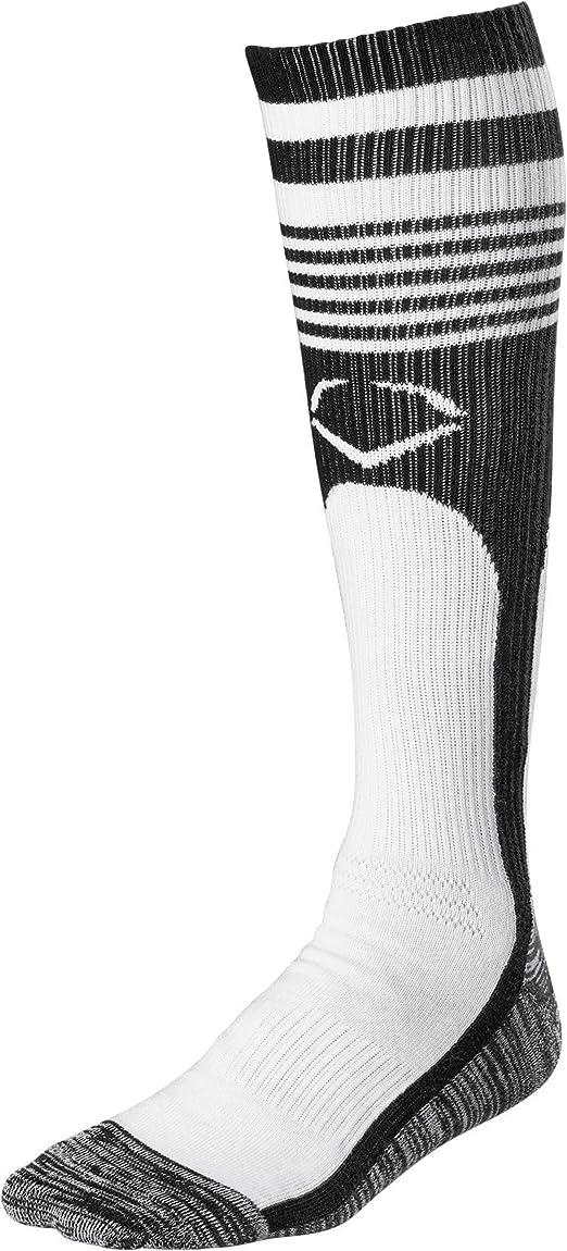 M Evoshield Knee-High Moisture Wicking Baseball//Softball Game Socks Scarlet