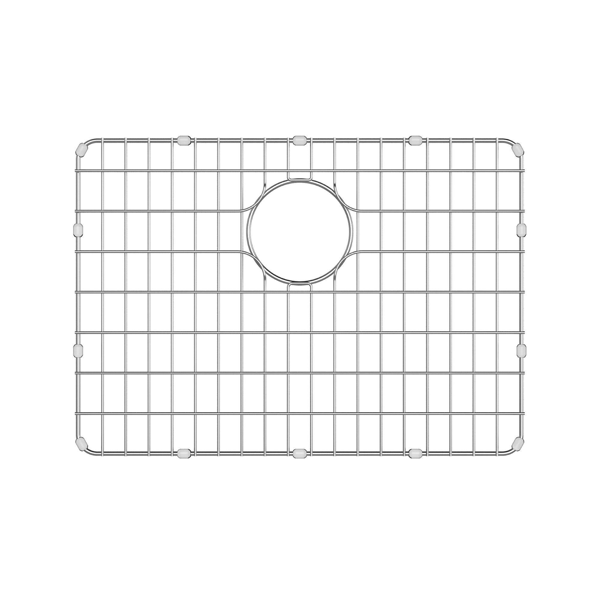 Kraus BG2317 Stainless Steel Bottom Grid for KD1US25B Kitchen Sink, 20.8'' x 14.8'' x 1''