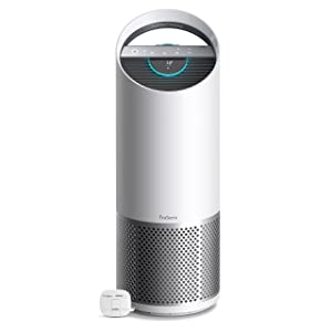 TruSens Z-3000 Air Purifier | Remote SensorPod | 360 HEPA Filtration with Dupont Filter | UV Light Sterilization Kills Bacteria Germs Odor Allergens in Home | Dual Airflow for Full Coverage (Large)