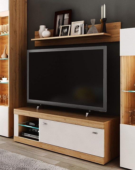 Miroytengo Mueble TV con Estante Ada diseño Moderno Color ...