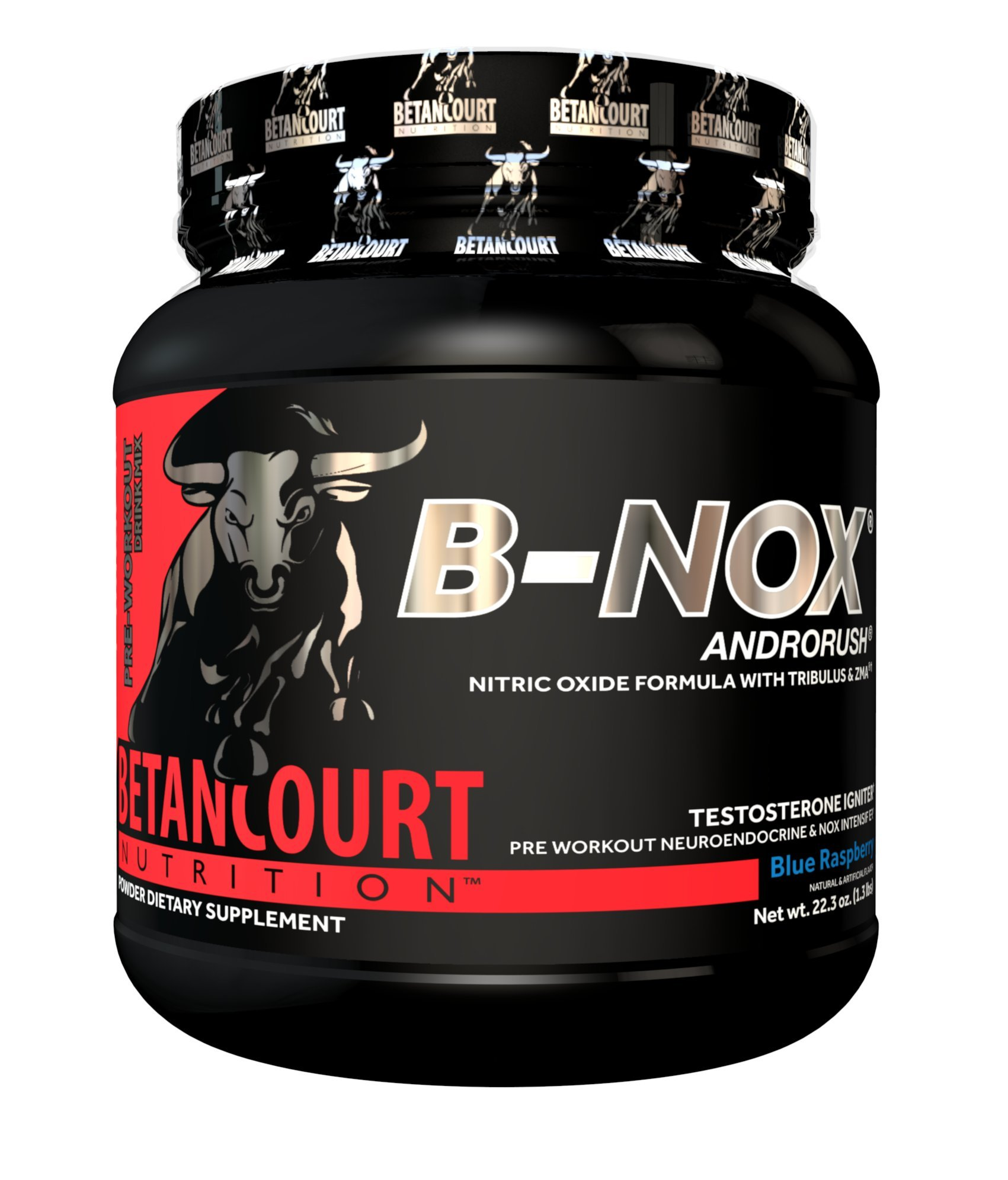 Betancourt Nutrition B-Nox Andorush Pre-Workout, Blue Raspberry, 22.3 Ounce by Betancourt Nutrition