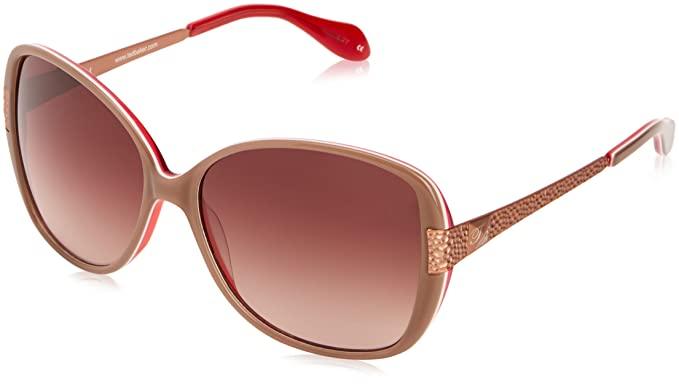 Ted Baker - Gafas de sol Oversized Wit para mujer, Nude ...