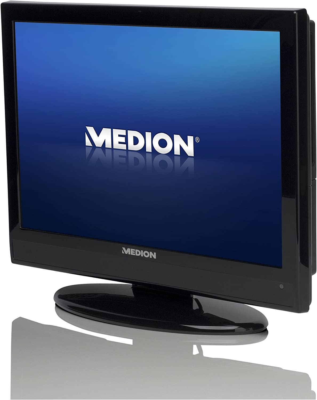 Medion P12009 48 Cm 19 Zoll Lcd Fernseher Hd Ready Dvd Player Schwarz Heimkino Tv Video