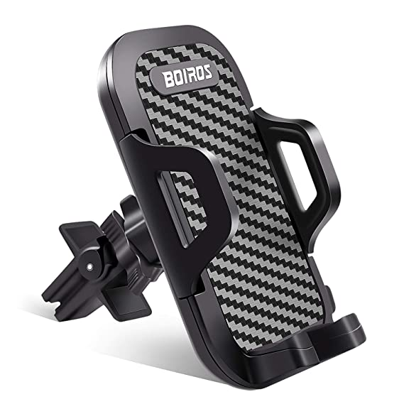 a618cde5c6efec Car Phone Mount, Air Vent Cell Phone Holder for Car Phone Holder Cradle  Clip Stand