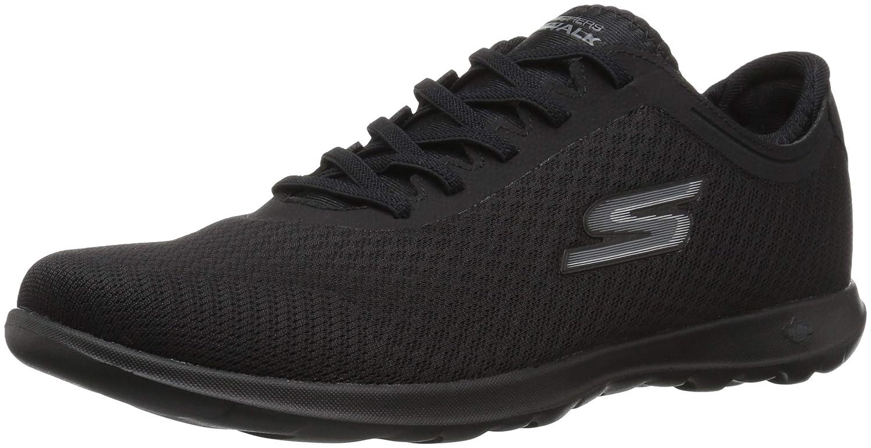 Skechers Damen Go (schwarz) Walk Lite-Impulse Sneaker Schwarz (schwarz) Go da5fb6