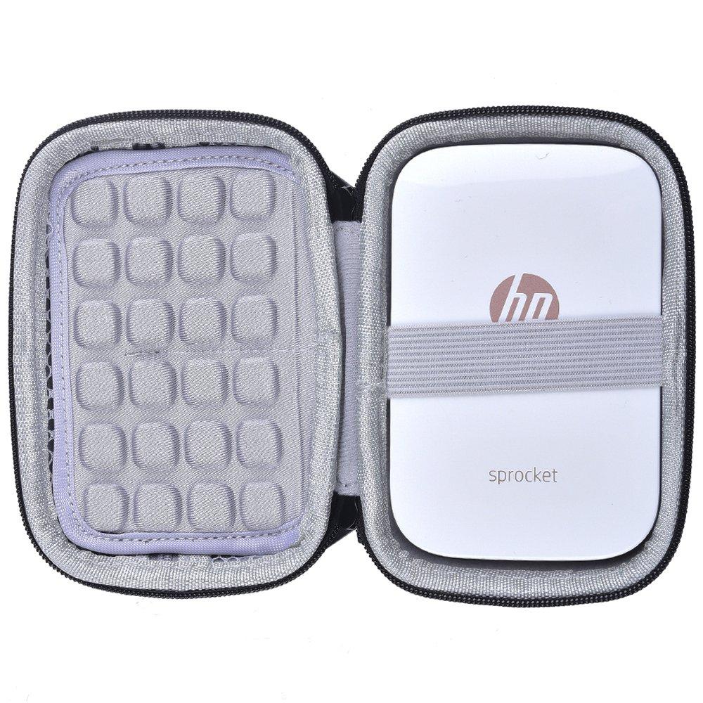 COMECASE Custodia Rigida per HP Sprocket Stampante Fotografica Portatile/Polaroid Zip Mobile Printer (Galaxy)