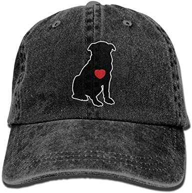 lkjhg478 Gorra de béisbol de Tela de Mezclilla para Perros Heart ...
