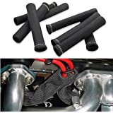 Car 1200 Degree Spark Plug Wire Boots Heat Shield Protector Sleeve Cover Compatible with SBC BBC 350 454 8PCS by Shinehome