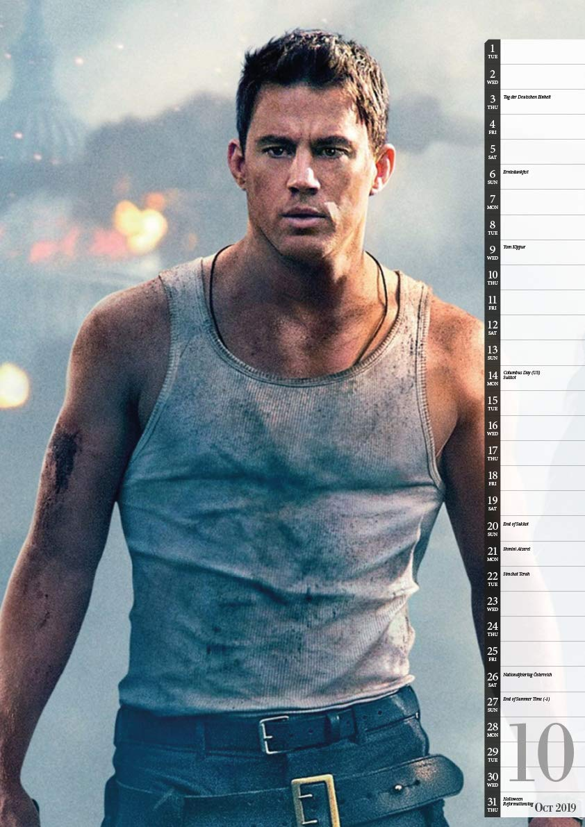 Channing Tatum 2019 Calendar : Tatum, Channing: Amazon.es: Libros