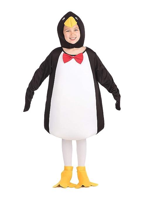 Bristol Novelty Traje Pingüino cómico, Mediano, Edad aprox 5-7 años