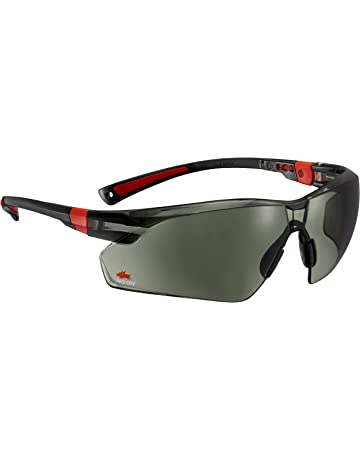 005ed14196b4 NoCry Work   Sport Safety Sunglasses - with Green Tinted Anti Scratch  Wrap-Around Lenses