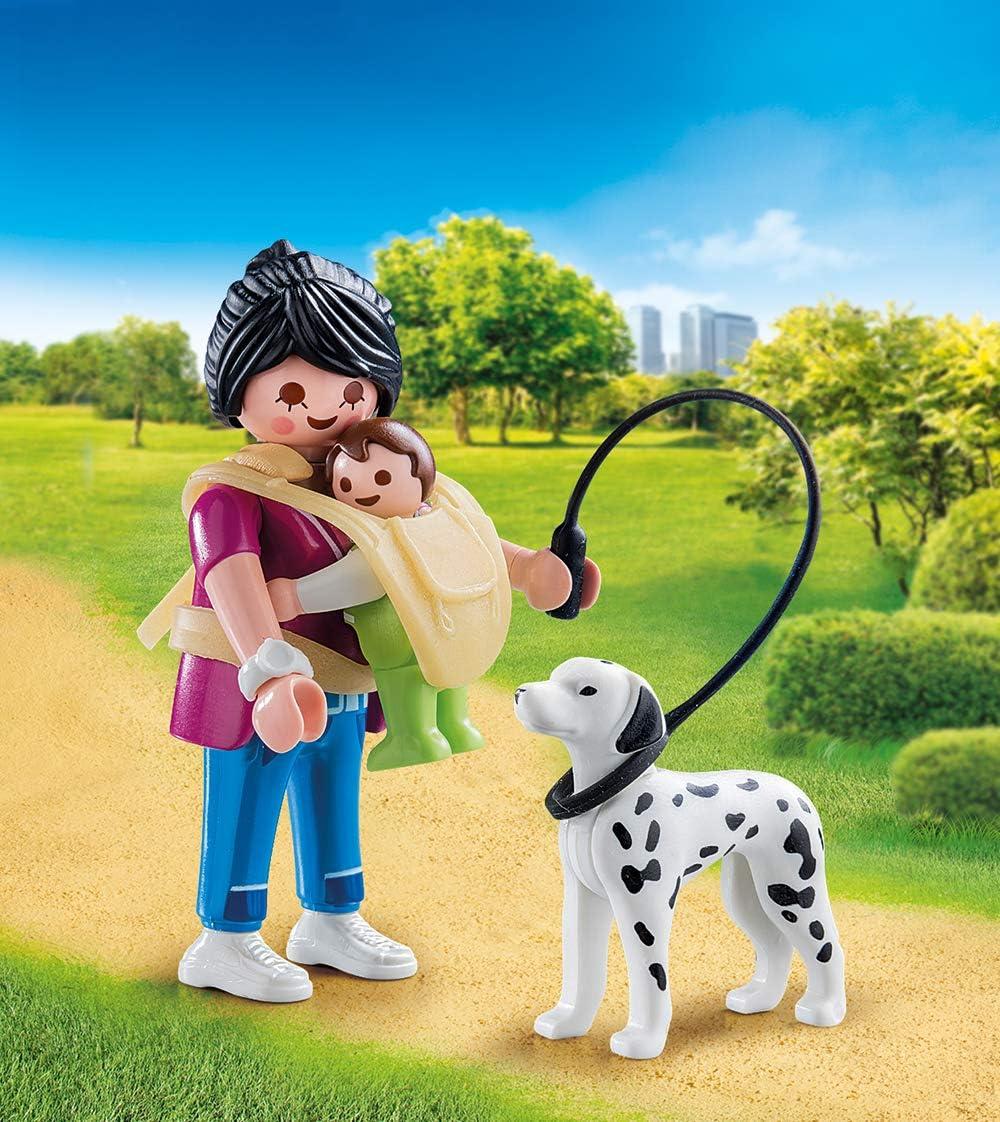 Juego #Playmobil Special Plus Mamá con bebé y perro por 11,29€