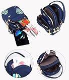 Toniker Nylon Small Crossbody Bags Multi-Pockets