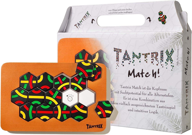 Tantrix Match-Puzzle táctico de Lege, Color fichas Negras. (Quecke ...