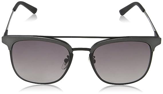 Police Sunglasses Herren Sonnenbrille Crossover 1, Schwarz (Semi-Matt Black), 54