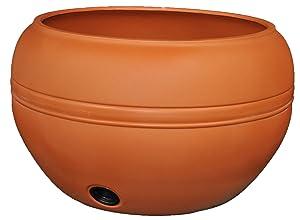Tusco Products HP01TC Hose Pot, 20-Inch, Terra Cotta