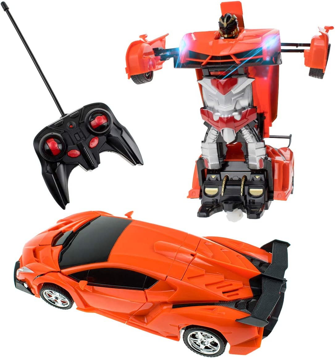 Children Transforming Robot Vehicles Car Plane Flexible Educational Toy Gifts