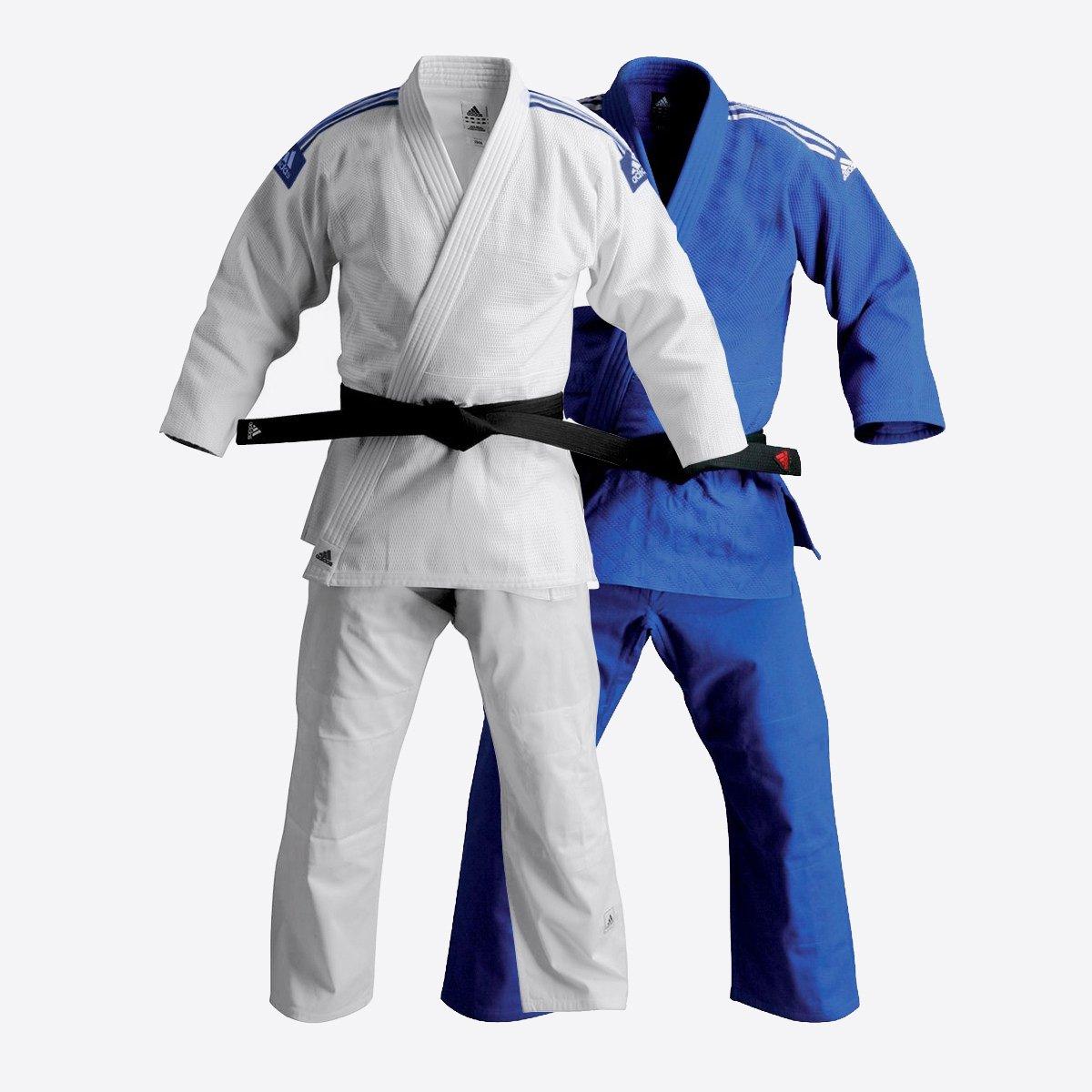 adidas Jiu-Jitsu Training Gi Uniform - 2 Colors! (Blue, 4/180cm) by adidas