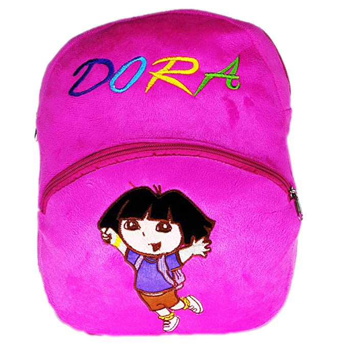 Netboys Dora Kids School Bag Soft Plush Backpack  Amazon.in  Clothing    Accessories f5408434c5477