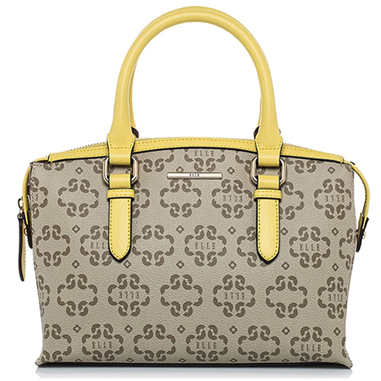 Elle 2016 Spring and summer new women's clubs printing handbag