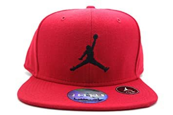 size 40 9b237 b4fcc Nike Jordan Jumpman Fitted – Visor Line Michael Jordan Unisex  multi-coloured Rojo Negro