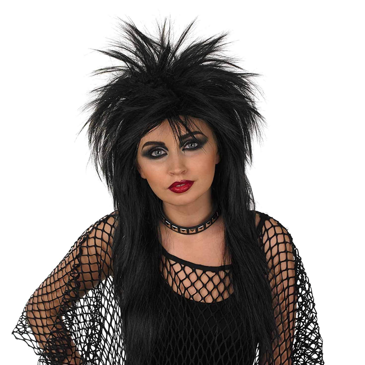Punk Rocker Mowhawk Fancy Dress Party Wig by Wicked