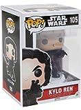 Funko Pop! películas: Star Wars El despertar de la fuerza - Kylo Ren (pose de batalla) Figura de acción
