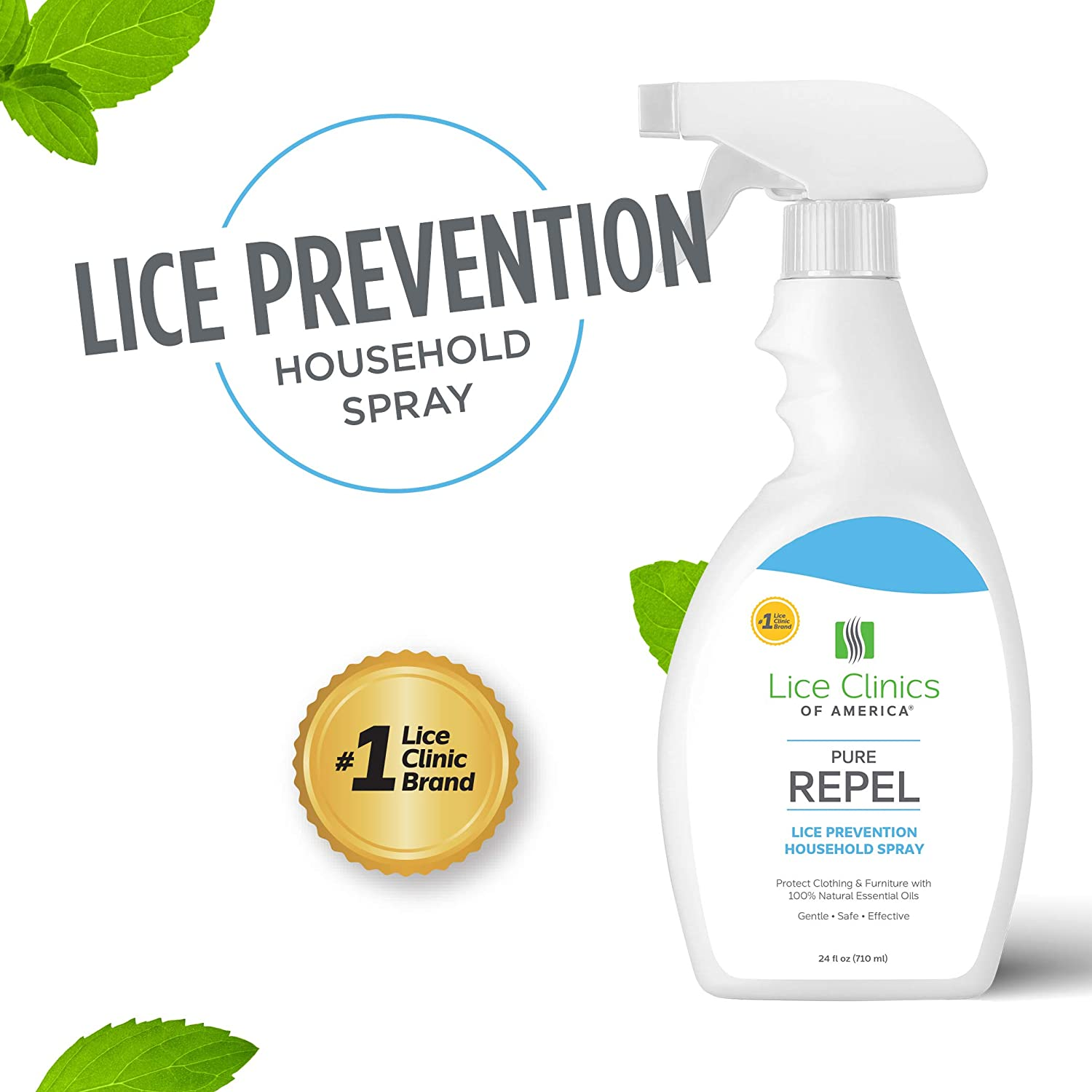 Lice Clinics of America Lice Prevention Household Spray – Keep Lice Away from Clothing, Furniture, and More!