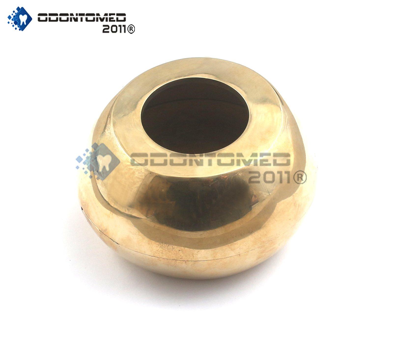 OdontoMed2011 Brass Denture Flask for Dental Oral Hygiene ODM by ODONTOMED