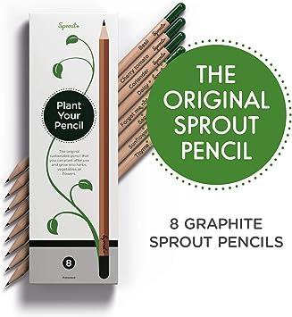 Plantas de lápices? Exactamente – una vez que su lápiz Sprout ya ...
