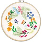 CUTICATE Extra Large Landscape Stamped Cross Stitch Kit DIY Art Crafts /& Sewing Needlepoints Kit for Beginners Kids Adults Embroidery Cross-Stitching Lovers S