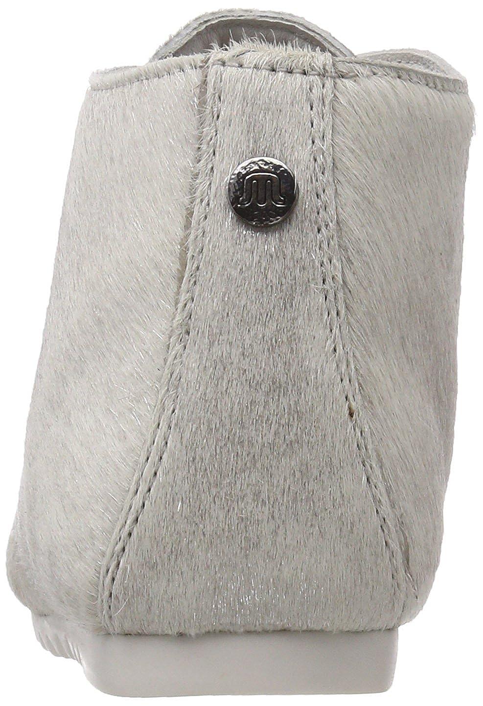 Maruti Damen Ginny Hairon Leder Leder Hairon Stiefeletten Silber (Misty Silver) 35735d