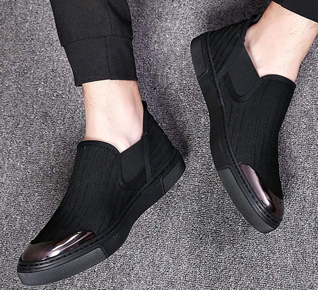 Oudan Segeltuchschuhe Der Männer Beiläufige Stiefelschuhmode Beschuht Beschuht Beschuht Faule Schuhe (Farbe   3, Größe   37EU) fde7e5