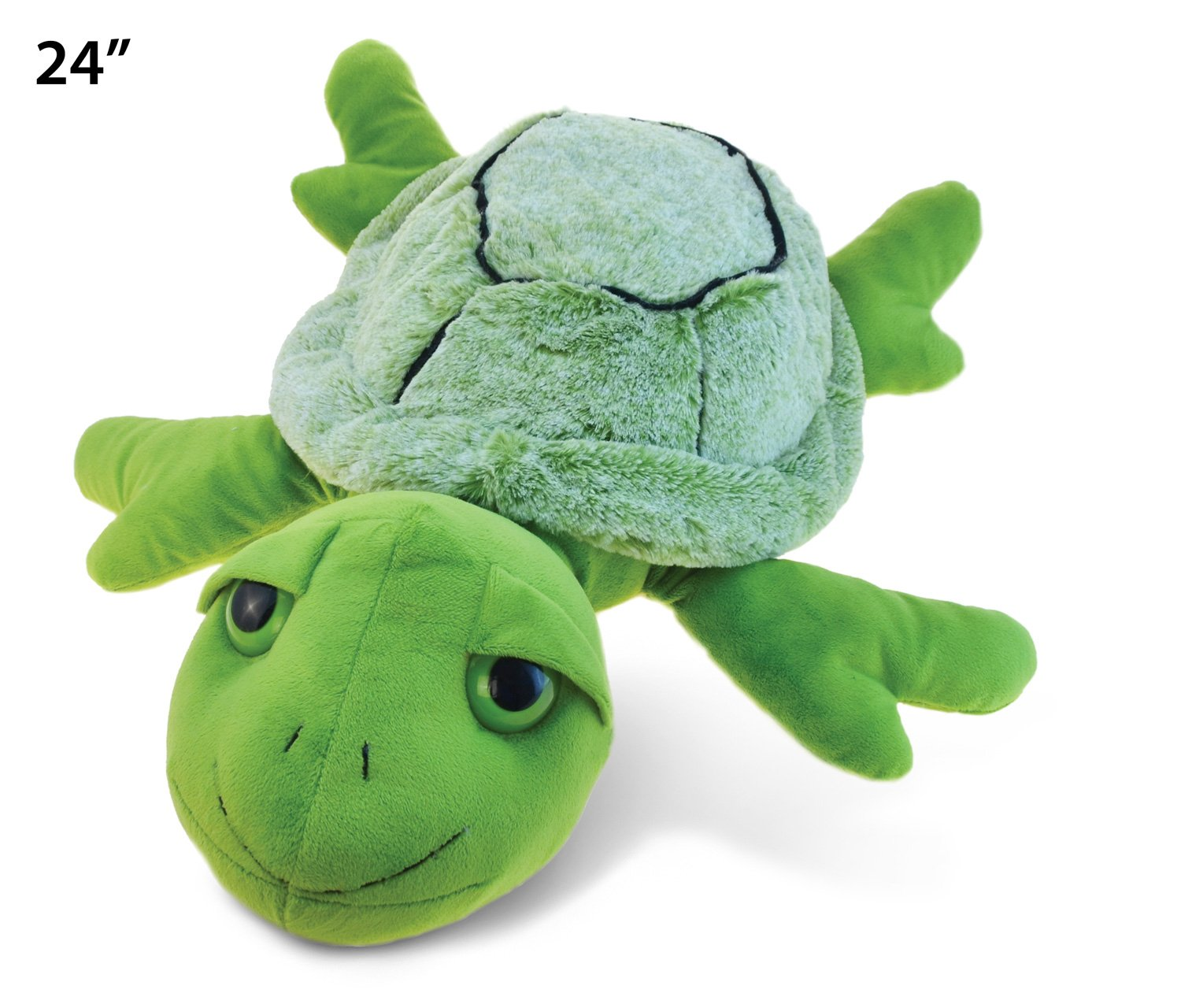 Amazon Com Puzzled Super Soft Turtle Plush 24 X Large Toys Games
